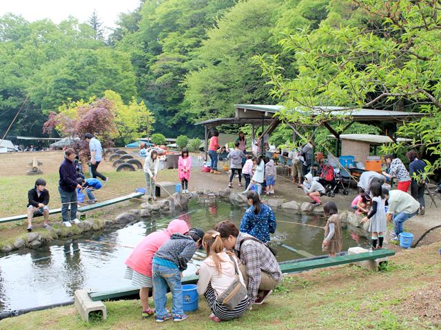峯自然園のみどころ/池